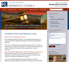 Law Office of Kenneth E. Chase website history