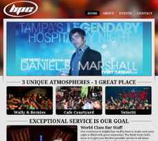 The Hyde Park Cafe website history