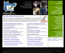 MyDog8it website history