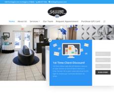 Gallery Salon website history