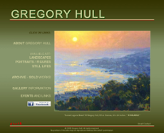 Gregory Hull website history