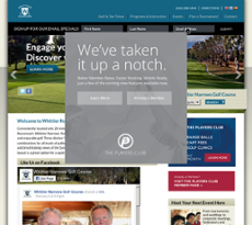 Whittier Narrows Golf Course website history