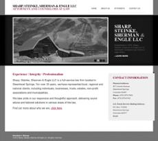 Sharp Steinke Sherman & Engle website history