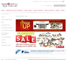 Health Craft website history