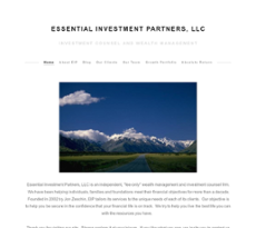 Essential Investment Partners website history