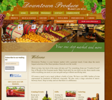 Downtown Produce website history