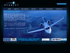 Starjet website history