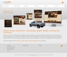 Scomo Design website history