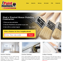 I Paint Homes website history