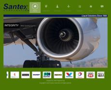 Santex website history
