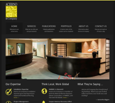 Acierno & Company website history