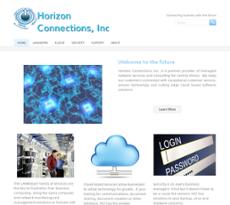 Horizon Connections website history