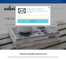 Valerie a website history