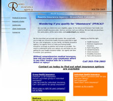 Reents Insurance Agency website history
