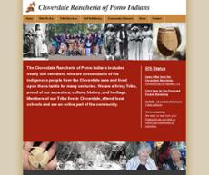 Cloverdale Rancheria of Pomo Indians website history