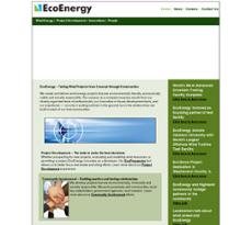 EcoEnergy website history
