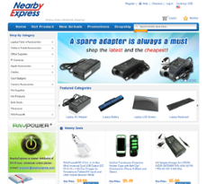 NearbyExpress website history