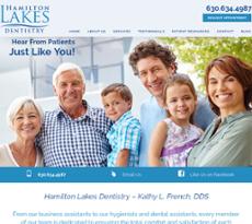 Hamilton Lakes Dentistry website history