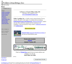 Pullen Consulting website history