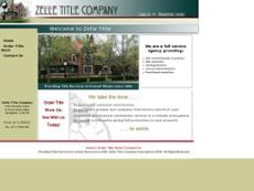 Zelle Title Company website history