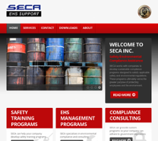 SECA website history