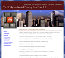 Reilly Intellectual Property Law Firm website history