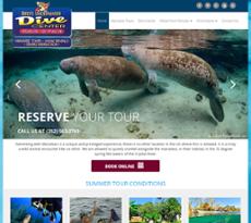 Bird's Underwater website history