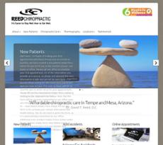Reed Chiropractic website history