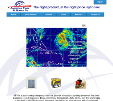 Americas Trade and Supply website history