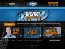 D. Mosley Trucking website history