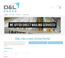 D and L Press website history