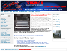 Seating Constructors USA website history