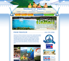 World O' Travel website history