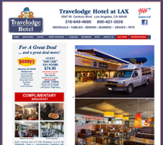 Travelodge Hotel Lax Airport website history