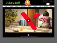 Balanzza website history