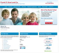 Frank P Orzel & Co website history