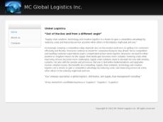 MC Global Logistics website history