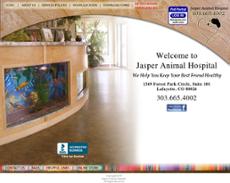 Jasper Animal Hospital website history