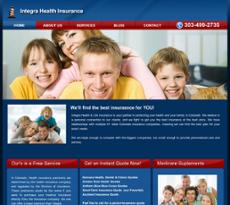 Integra Health Insurance website history