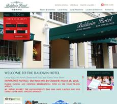 Baldwin Hotel website history