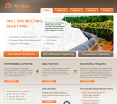 The Sanitas Group website history
