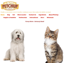 Petchup website history
