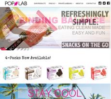 POP LAB website history
