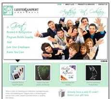 Lester Lampert Corporate Division website history
