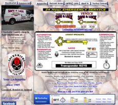 Safe & Lock website history