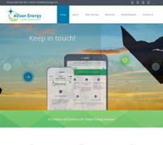 Alfson Energy website history