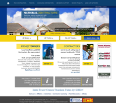 National Contractors website history