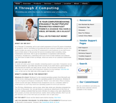 A Through Z Computing website history