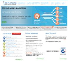 TEKchand website history