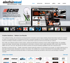 Electric Easel website history